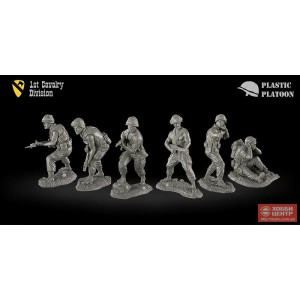 США. 1 кавалерийский дивизион PP set54 026