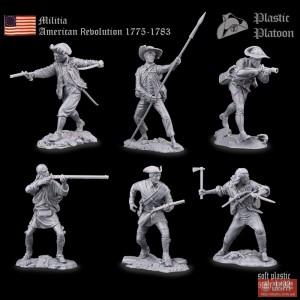 Ополчение. Америкаская революция 1775-1783 PP set54 036