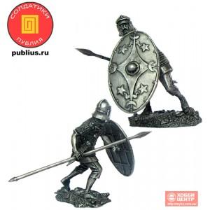 Легионер вспомогательной когорты XXIV легиона, 1-2 вв н.э. PR-54044a