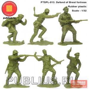 Оборона Брестской крепости PTSPL-013 (набор)