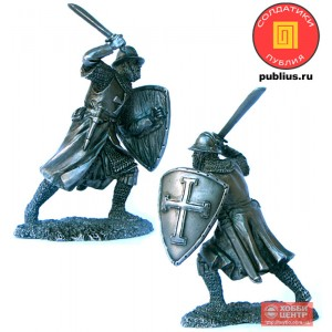 Кнехт Тевтонского ордена, 13 век. PTS-5278