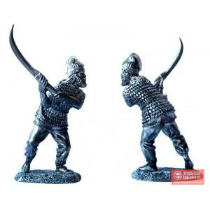 Дакский пехотинец с фальксом, 1-2 вв. PTS-5056