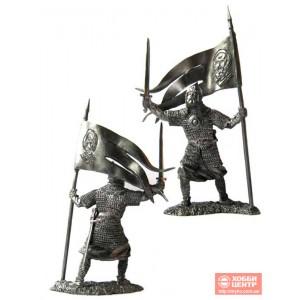 Русский дружинник-знаменосец 13 век. PTS-5126