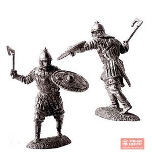 Новгородский ополченец, 13 век. PTS-5154
