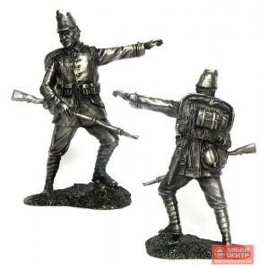 Унтер-офицер 10 егерского полка, Германия, 1914 г. PTS-5276