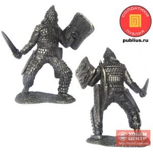 Знатный скифский воин, V-IV вв. до н. э. PTS-5283
