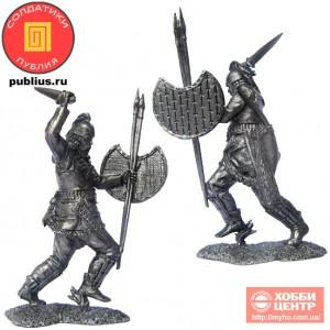 Скифский воин, V-IV вв. до н. э. PTS-5285
