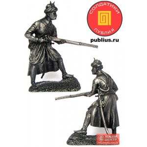Стрелок-левант провинциальной пехоты йерликулу, XVIII век. Османская империя. PTS-5295