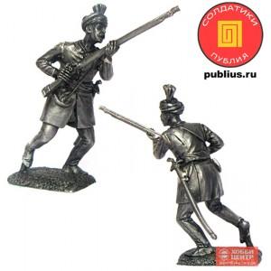 Тюфекчи — мушкетер повинциальной пехоты йерликулу, XVIII век. Османская империя. PTS-5298