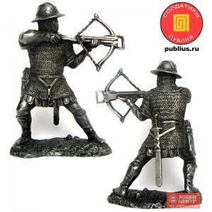 Воин-крестоносец с арбалетом, 12 век PTS-5319