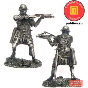 Воин-крестоносец с арбалетом, 12 век PTS-5319 new