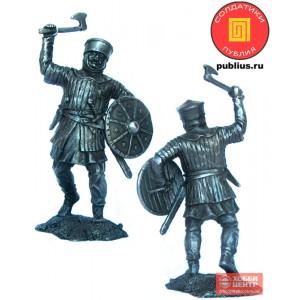Западноевропейский пехотинец, 12 век. PTS-5322