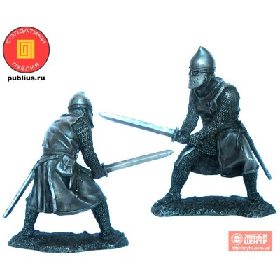 Рыцарь-тамплиер, 12 век. PTS-5323