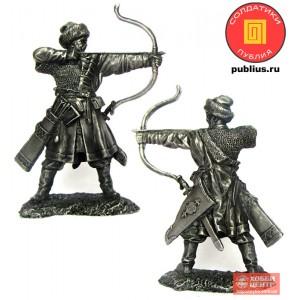 Русский лучник, XIV век. PTS-5330