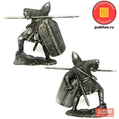 Русский дружинник, XIV век. PTS-5331
