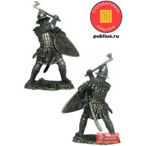 Русский воин, 14 век PTS-5334