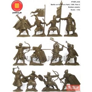 Куликовская битва, часть 2. PTSPL-030 (6 татаромоноголов в наборе)