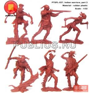 Индейцы, набор 3. PTSPL-037
