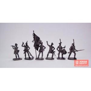 Русская пехота, 1812 г., часть №1 40 мм PTS-4047