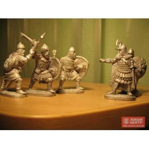 Русские средневековые воины (набор)