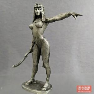 Египтянка с пантерой 75 мм