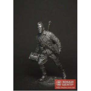 Красноармеец-связист, РККА, 1941-43 гг. СССР WWII-65