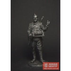 Красноармеец-связист, пехота Красной Армии, 1943-45 гг. СССР WW2-66