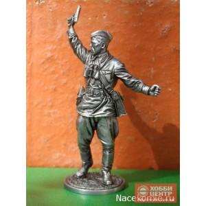 Комбат, капитан пехоты Красной Армии. 1941-43 гг. СССР WW2-71