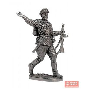 Старший сержант пехоты РККА. 1941-43 гг. СССР WWII-31