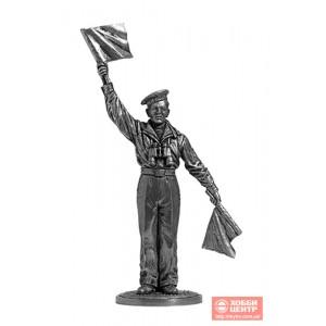 Краснофлотец-сигнальщик, ВМФ 1941-45 гг. СССР WWII-39