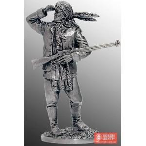 Индеец с ружьем WW-26