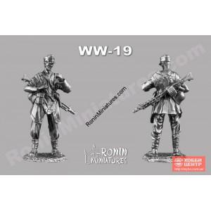 Пулеметчик вермахта 1944 год WW-19
