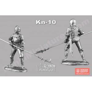 Средневековый алебардист Kn-10