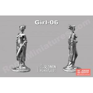 Гейша раздевающаяся Girl-06