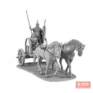 Гальский воин с копьем