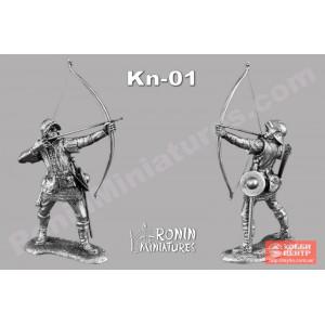 Средневековый лучник Kn-01