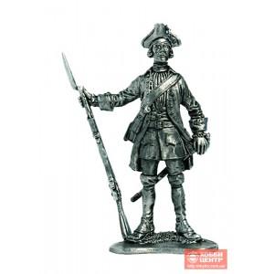 Фузелёр армейской пехоты. Россия, 1732-42 гг. R26