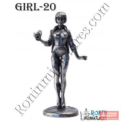Девушка с фотоаппаратом Girl-20