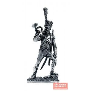 Корнет вольтижёров лёгкой пехоты. Франция, 1809-13 гг. N50