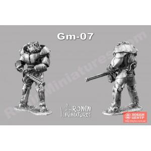Силовая броня Х 01 из игры Фоллаут Gm-7