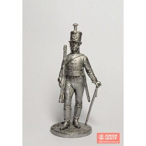 Унтер-офицер Лейб-гвардии Егерского батальона. Россия, 1802-04 гг. NAP-61