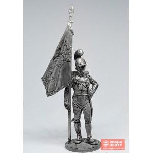 Знаменосец 4-го пех. Плк. фон Франкемона. Вюртемберг, 1811-12 гг. NAP-63