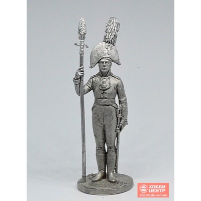 Обер-офицер Орловского мушкетерского полка. Россия, 1804-06 гг. NAP-65
