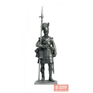 Сержант шотландской пехоты, 1815 год N135