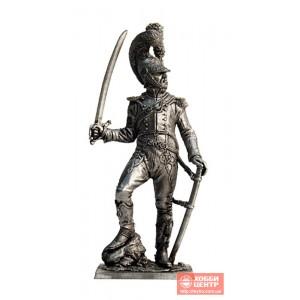 Офицер шеволежерского полка. Франция, 1811-15 гг. N44