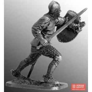 Средневековый рыцарь, 15 в. Арт.54-39