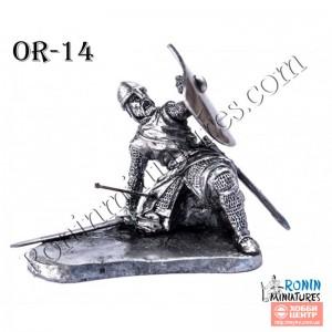 Раненый в ногу рыцарь Or-14
