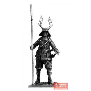 Самурай с копьём яри, 1600 год M128