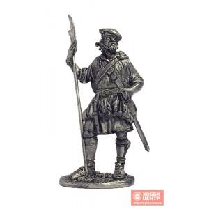 Шотландский воин, конец 17-нач.18 вв. М14