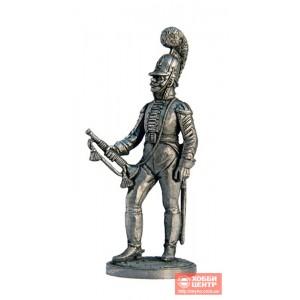 Штаб-трубач Московского драгунского полка. Россия, 1803-06 гг. NAP-01